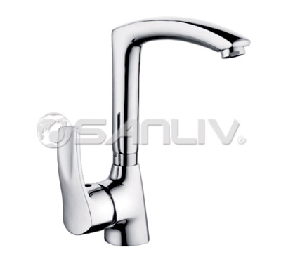 Single Hole Kitchen Sink Faucet Chrome – 67790