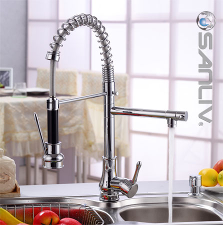 Pull Down Spray Kitchen Mixer Faucet 28105