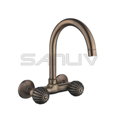Brass Kitchen Mixer Faucet Bronze 83210YB