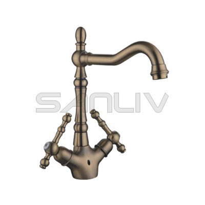 High Basin Mixer Faucet Bronze-83911YB