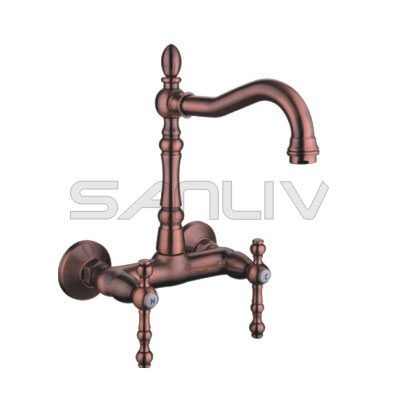 Wall Kitchen Mixer Faucet Bronze – 83910RB