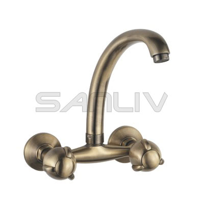 Sanliv Wall Mount Kitchen Faucet Bronze 82610YB