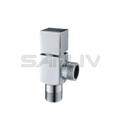 Brass Angle Valve Chrome – V07