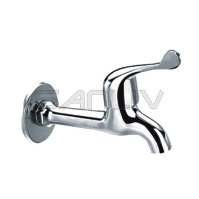 Brass Bib Cock or Angle Tap Chrome – V12