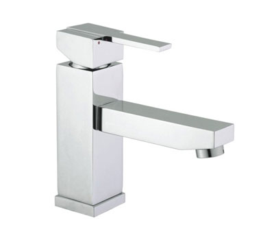 Square Single Handle Basin Mixer Tap- 67001