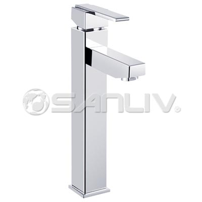 Single Handle Vessel Filler Brass Sink Faucet 67011