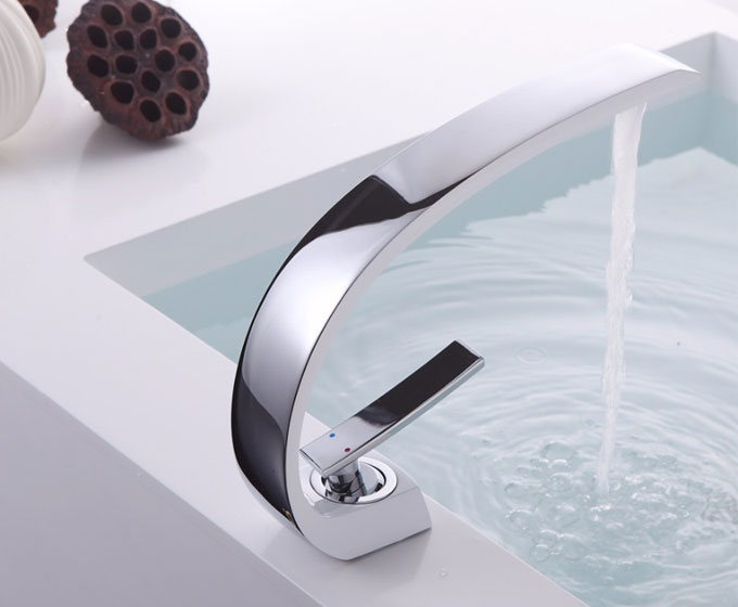 Basin Mixer Tap Chrome Bathroom Sink Faucet