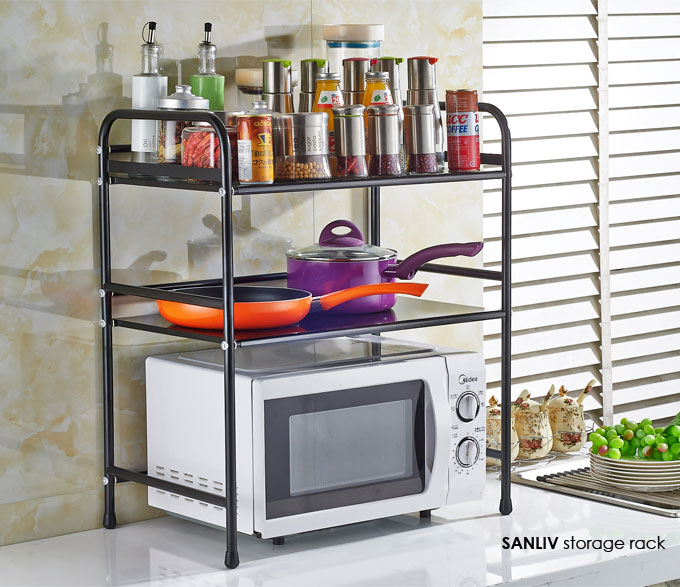 Kitchen Storage Rack Microwave Cart-Stand Shelf 30101 | Sanliv