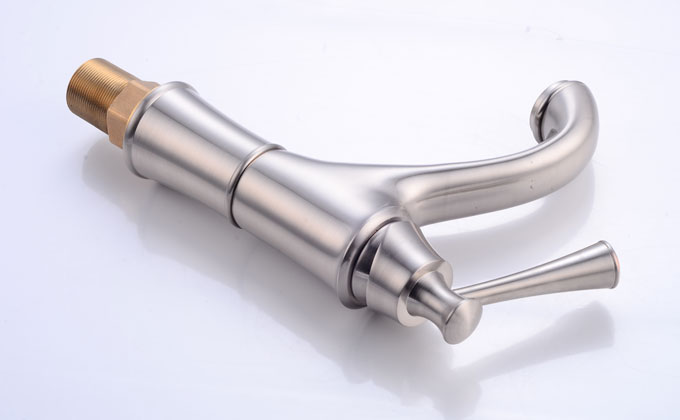 Brushed Nickel Lavatory Vanity Faucet Basin Mixer Tap 28328ORB