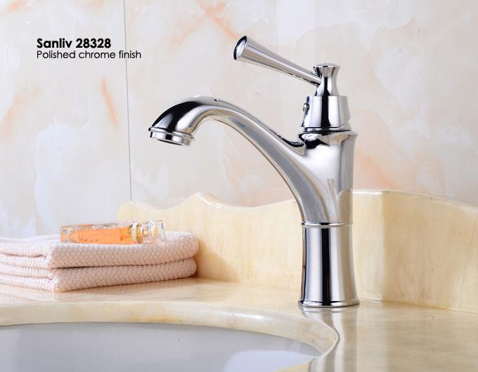 Chrome Bathroom Sink Faucet Basin Mixer Tap 28328