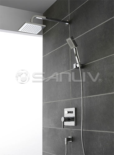Concealed Rain Shower Mixer Set 2698