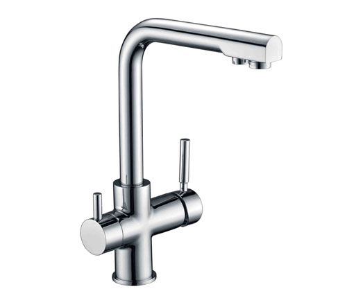 Filtered RO or UF drinking water faucet