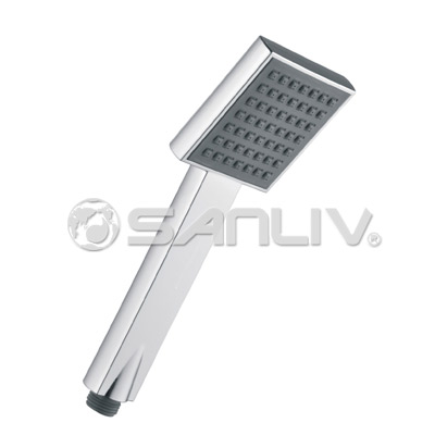 Chrome Square Handheld Shower Head H803