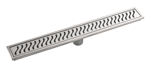 Stainless Steel Linear Shower Drain Grate Floor Waste FL02