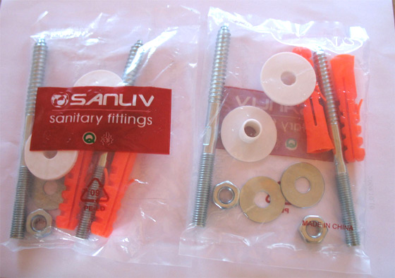Wall Mounted Basin Fixing Screw Kit photo