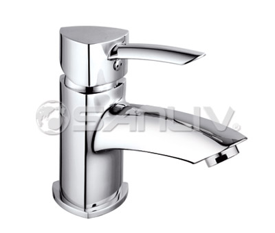 Single Handle Bathroom Basin Mixer Faucet 60801