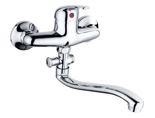 Single Handle Bath Mixer Tap-66307