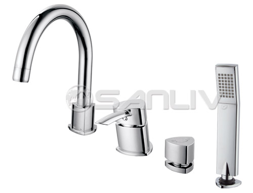 Bathtub Shower Faucet with Hand Shower 60841
