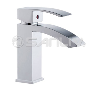 Bathroom Vessel Sinks on Bathroom Sink Faucet Bathroom Sink Faucets Faucets  In Basin Faucet. Kraus Brown Clear Glass Bathroom Vanity Vessel Sink Chrome