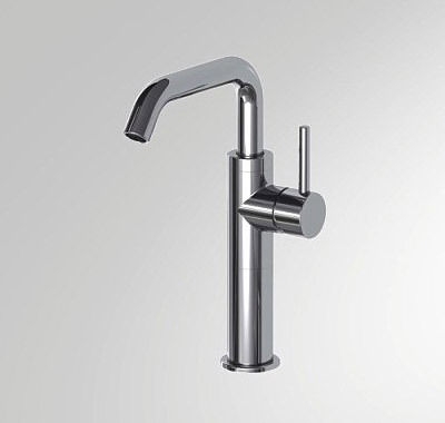 Single Handle Bathroom Vessel Filler Faucet