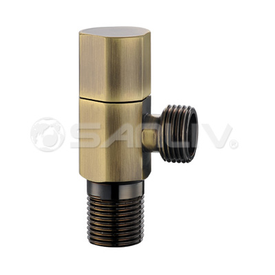China brass angle valve for kitchen taps and lavatory faucet