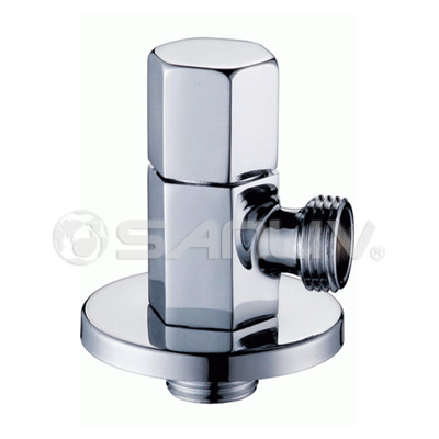 China brass angle valve chrome