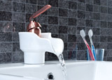 Ceramic Bathroom Sink Faucet
