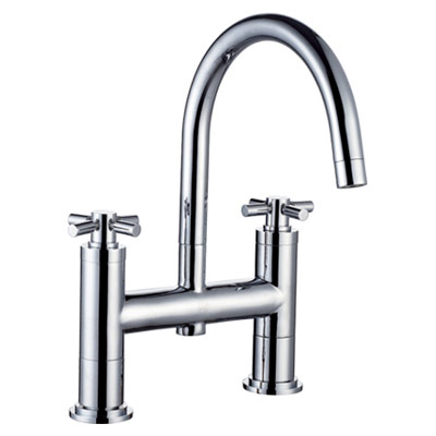 Chrome Bathroom Bath Filler Tap 80221