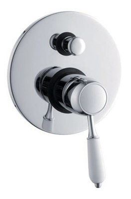 Concealed Non Thermostatic Bath Shower Valve Mixer with Diverter
