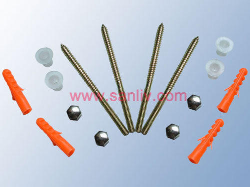 Floor Fixing Kit for Toilet WC Bidet