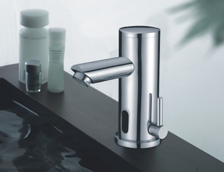 Automatic Sensor Faucet with Temp Control 21165 | Electronic Hands ...