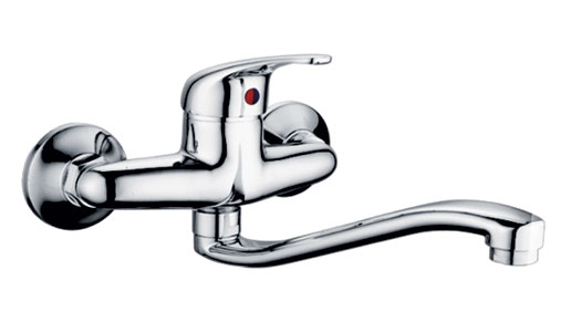 Wall Mounted Kitchen Faucet 66306 Single Handle Wall Mount
