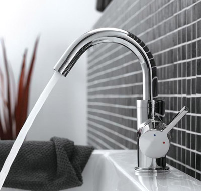 Sanliv Single Handle One Hole Wash Basin Mixer Tap