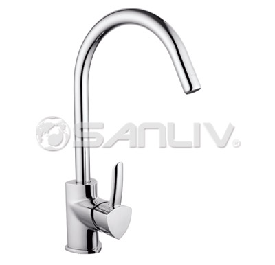Single Handle Kitchen Sink Faucet 60809