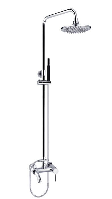 Bathtub Mixer with Rain Shower Set
