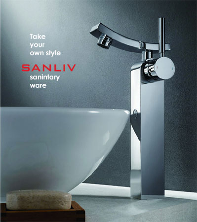 Sanliv tall vessel sink faucet 28315H