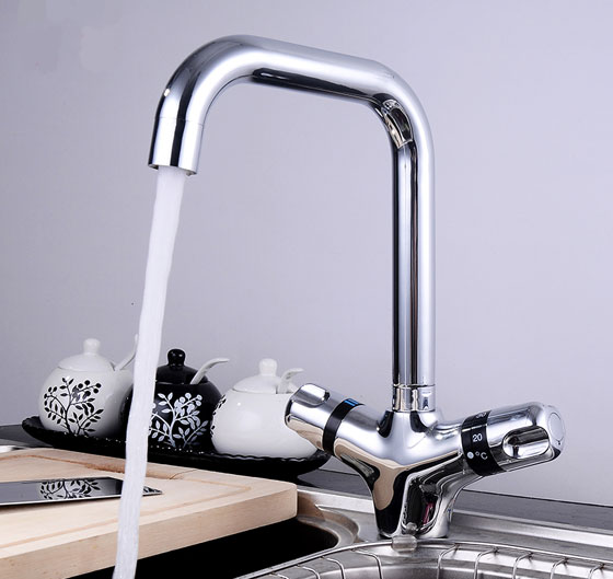Two Handle Single Hole Kitchen Faucets Sanliv Kitchen Faucets Shower Mixer Taps And Bathroom Fixtures