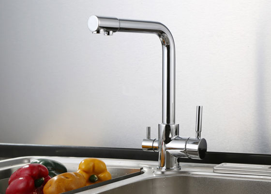 Three-way Triflow Kitchen Faucet