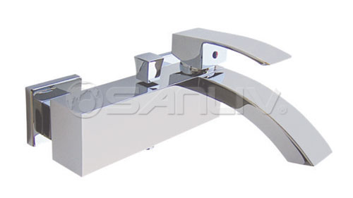 Single Handle Bath Shower Faucet 50103 | Single Handle Wall-Mount ...