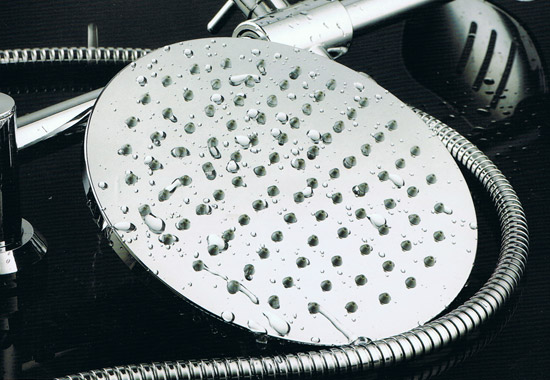 Ultra-thin 8 Inch Rain Showerhead Chrome A2852