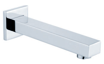 wall mounted lavatory or bathtub filler spout