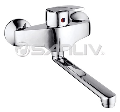 Single Handle Wall Mounted Kitchen Faucet 67806