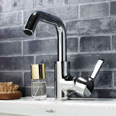 Sanliv Water Saving Basin Mixer with pop up waste 28316