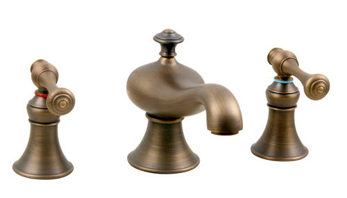 Mini-widespread Brushed Bronze Lavatory Faucet manufacturer
